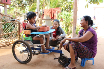Rehab & Therapy Groups for Cambodian Children with Disabilities
