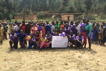 Reusable Menstrual Pads for Girls in Rwanda
