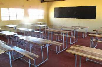 Nalube Primary School Classroom Structure